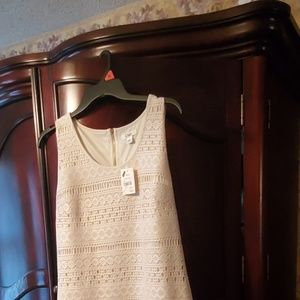Cato cream color , sleeveless dress